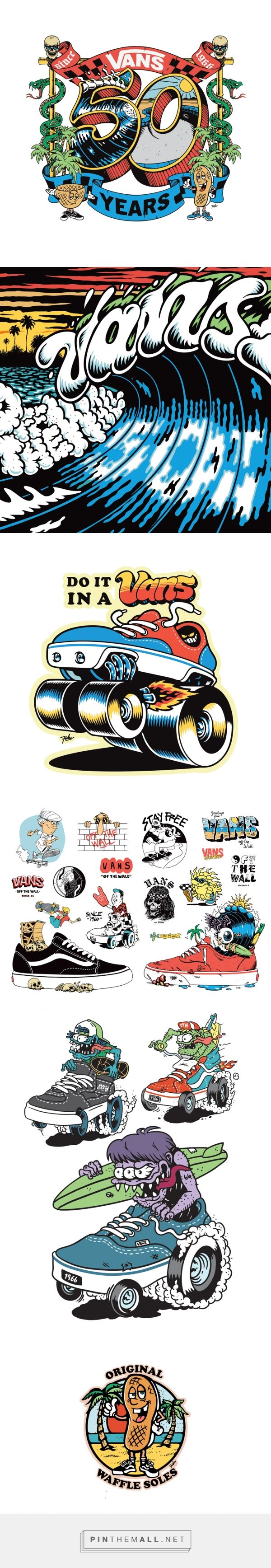 "VANS ""OFF THE WALL"" on Behance - created via https://pinthemall.net"