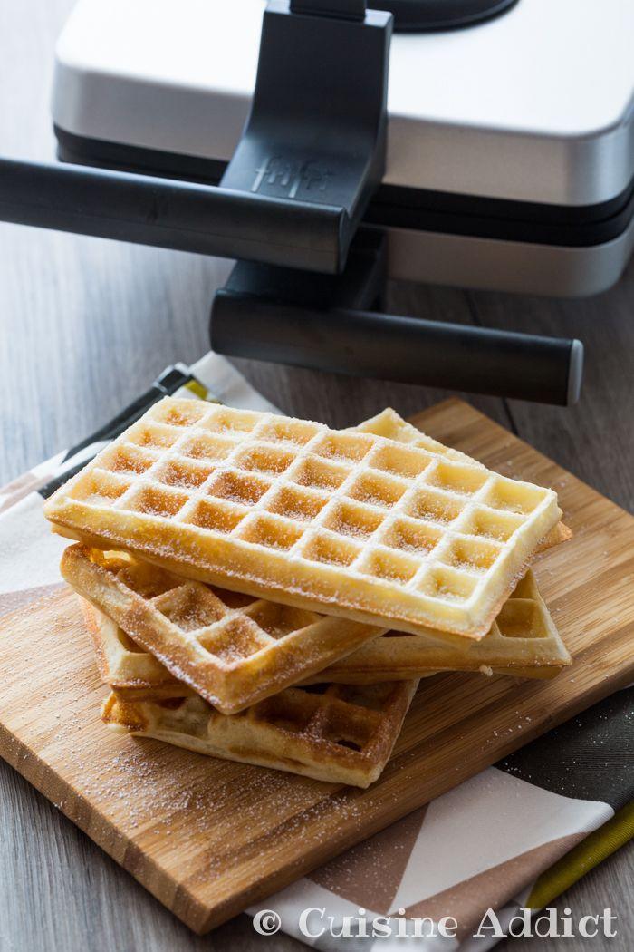 Test du gaufrier WA102a de la marque FriFri et recette de gaufres moelleuses à la vanille.
