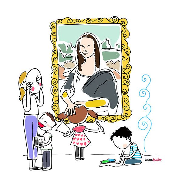 Disegni per il blog mamma di ludovica on Behance