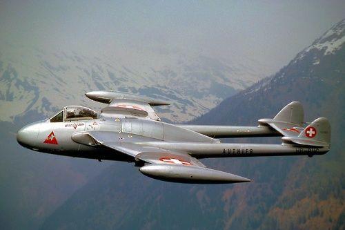 Vampire Swiss air force