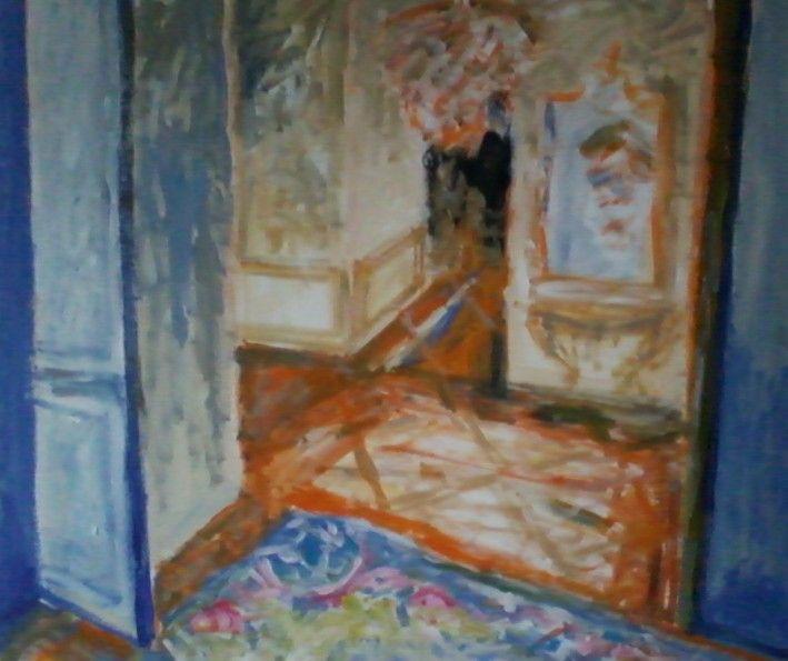 Aubusson Blue Gallery, 70/80cm, a/c, 2014