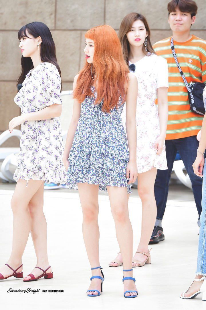 5 Chaeyoung Pics Chaeypics Twitter Summer Outfits Kpop Girls Feminine Outfit