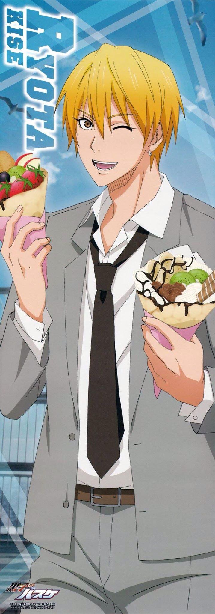 Would u wan to enjoy a crêpe with me Kuroko, Kise kuroko