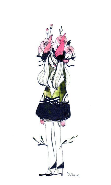 http://maruti-bitamin.tumblr.com/post/77975179472/daily-drawings ~credit to the artist
