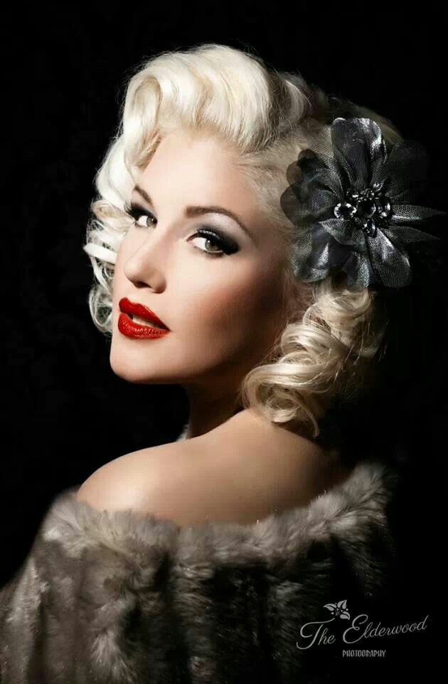Hairstyles For Short Hair Pin Ups : Gorgeous! Pin up Poses Pinterest