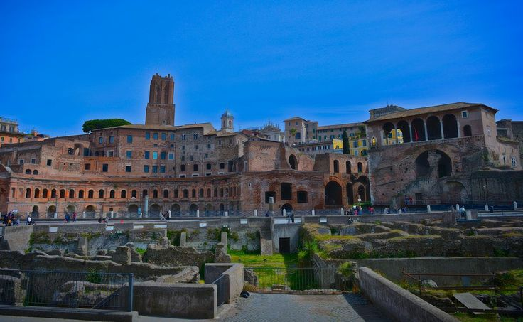 Foro di Traiano by Welbis Pestana on 500px