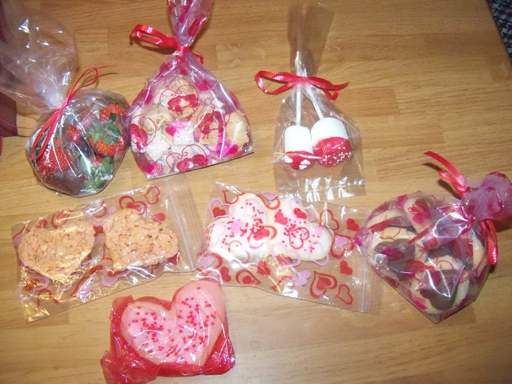Valentine goody bags: Valentines Crafts, 3 Valentines 3, Valentine'S S, Valentine'S Crafts, Valentines Goodies, Valentines St. Pats Easter, Valentines St. Pat East