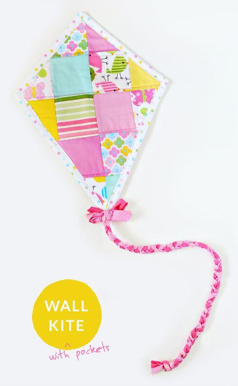 wall kite tutorial / ann kelle