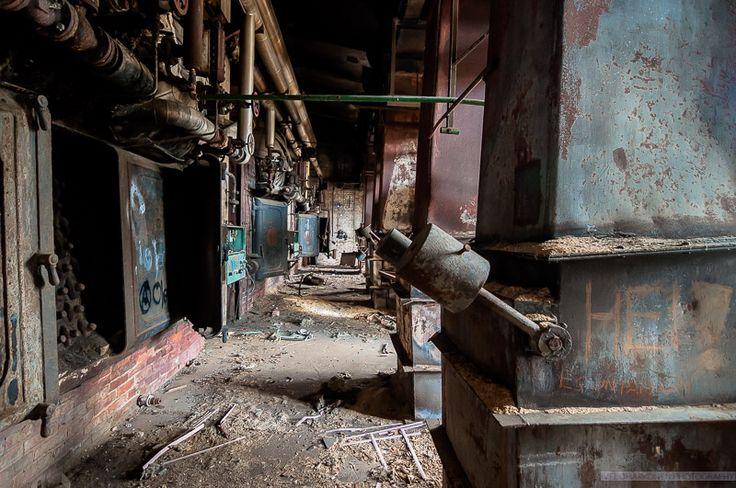 Abandoned Sawmill Hall at Martinniemi, Finland