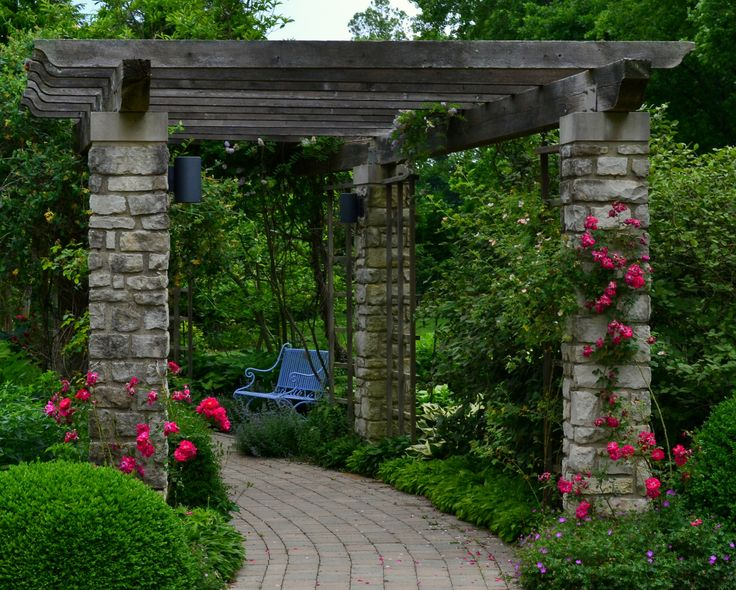 Stone Arbor. The Stone Arbor Is Not Very Common But Itu0027s Looking Beautiful  With Climbing