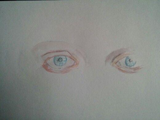 Lovely blue eyes,part 1