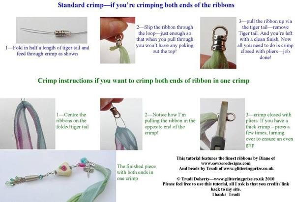 Ending ribbons