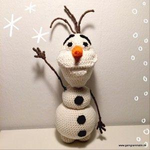 Garn Grammatik - Hæklet Olaf fra Disneys Frost