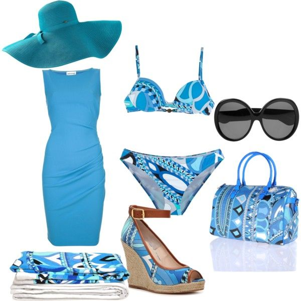 """""""Pucci Pool Outfit"""" by talk56 on Polyvore"""