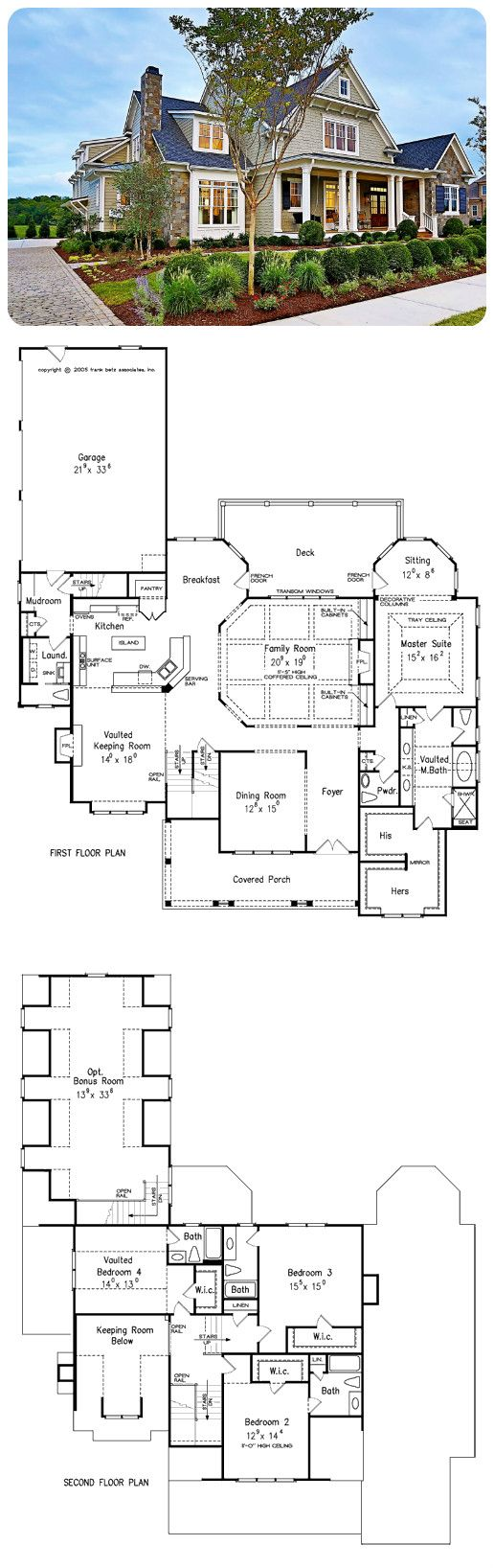 Northfield Manor - A #FrankBetz Plan Spacious luxury living is the hallmark of… love this plan! Jlc