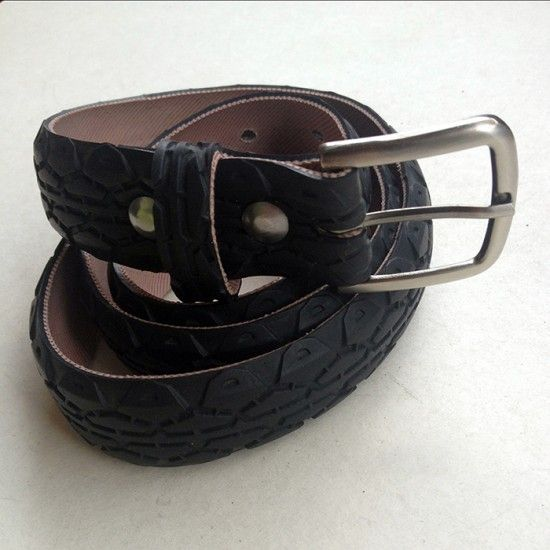 Handmade, unique and encvironmental-friendly upcycled - recycled belts from bicycle tires. Check: www.felvarrom.com