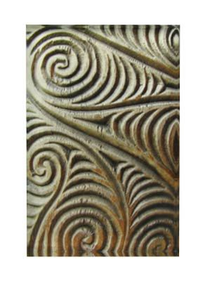 Maori Carving Art Block Artearoa | Shop New Zealand NZ$ 43.90