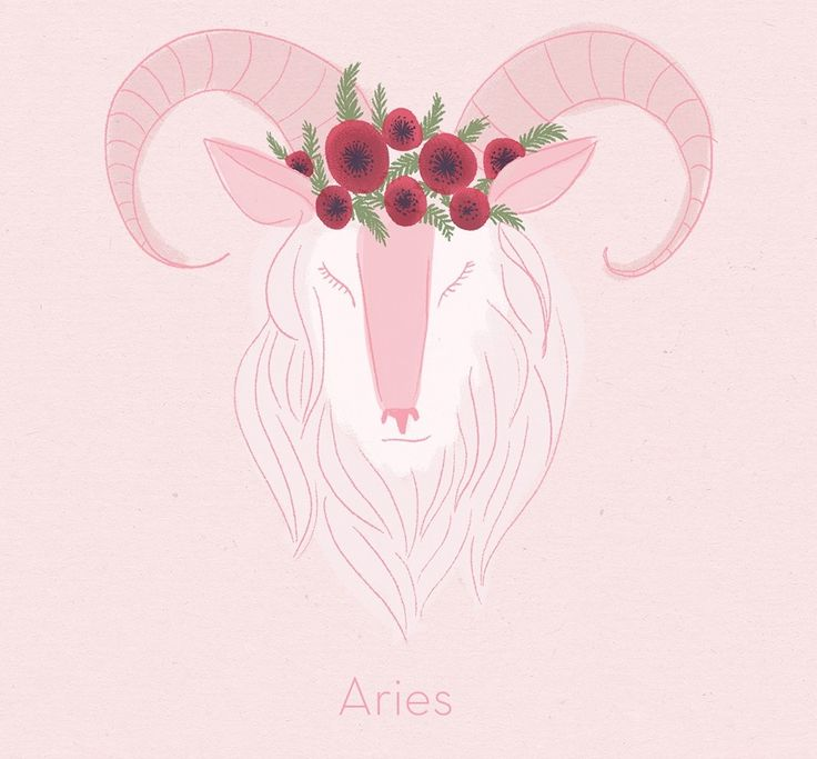 Aries, sure of herself