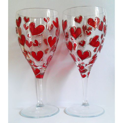 31 best royal wine glasses images on pinterest red wine for Hand designed wine glasses