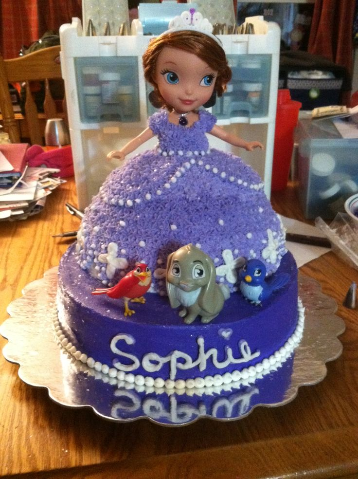 Sophie The First Birthday Cake