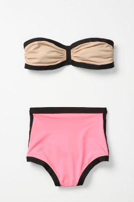 If I were rich, I would own all of the Anthropologie Spring 2012 swimsuits.