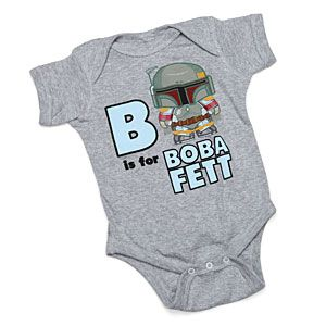 ThinkGeek :: B is for Boba Fett Bodysuit