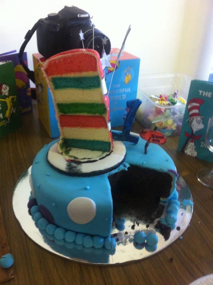 Sam I Am cake.