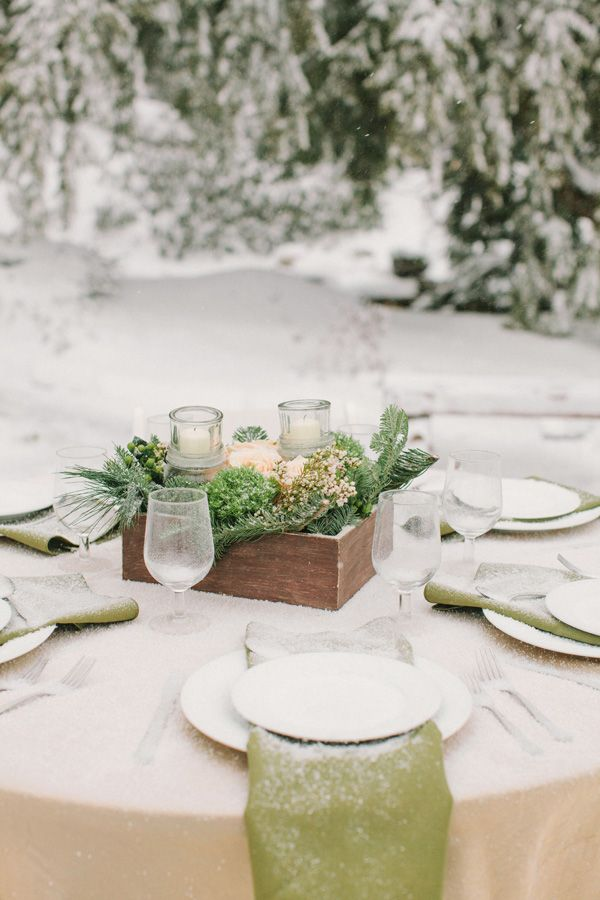 winter wonderland wedding ideas