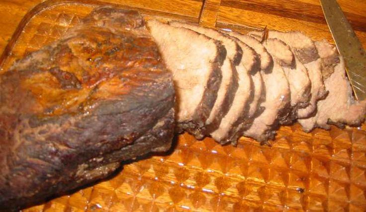 Kallas också tjälknul. Det här receptet är för nöt- eller älgkött, men jag har provat med både rådjur och lamm (urbenade stekar) och det blev supergott det också.