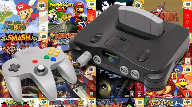 Top 15 games released on the Nintendo 64 - Geek.com
