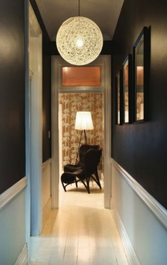 love the idea of a dark dark dark hallway