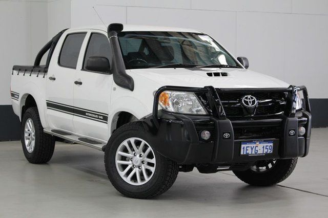Used Toyota Hilux SR (4x4), Bentley, 2008 Toyota Hilux SR (4x4) Dual Cab Pick-up