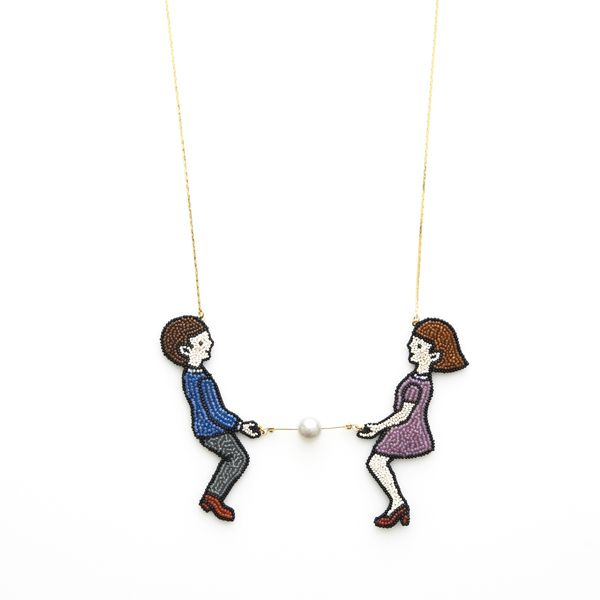 Boy and Girl NECKLACE | ACCESSORIES | GALLERY | maison des perles|メゾン・デ・ ペルル