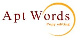 Professional copy editing services by Sue Littleford, Apt Words