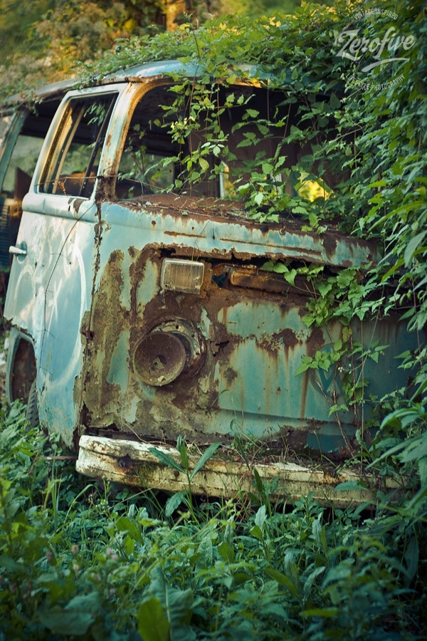 Abandoned Volkswagen t2 Abandoned & cars