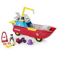Paw Patrol Sea Patrol Sea Patroller Transforming Vehicle and Figure