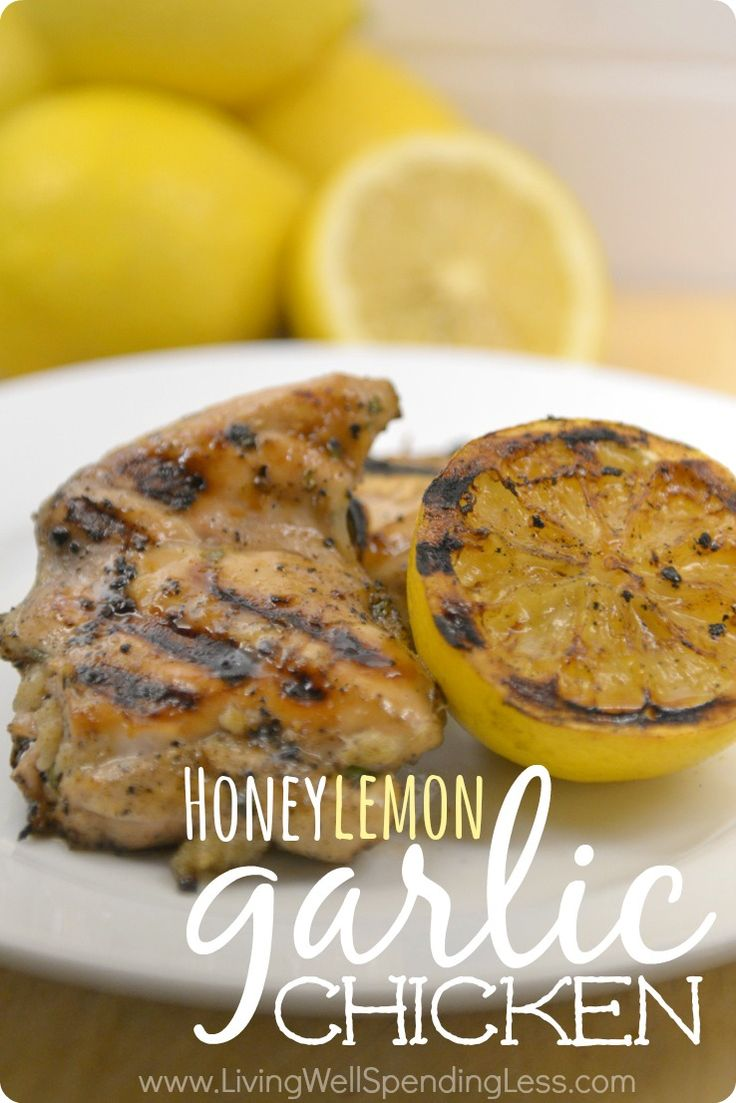 "This super simple but moist and delicious honey lemon garlic chicken is one of my family's favorite ""cheater"" recipes for  freezer  cooking.   Just throw the  ingredients in a  bag, then pop it in the  freezer--no  pre-cooking required!  Perfect  for fast  weeknight meals that the whole  family will  love."