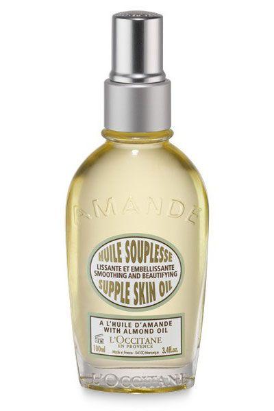 L'Occitane Almond Supple Skin Oil, $42, loccitane.com.   - HarpersBAZAAR.com