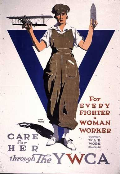 Care for her through the YWCA (lodging and a safe place for women come to cities to do war work)