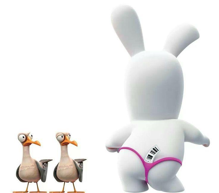 Gut bekannt 124 best Lapin Crétin images on Pinterest | Minions, The rabbit  WL53