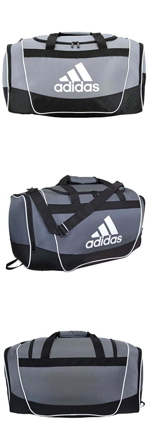 Gym Bags 68816: Adidas Duffel Bag Black/Gray Large Gym Sport Men Woman Gift New Travel Luggage -> BUY IT NOW ONLY: $62.73 on eBay!