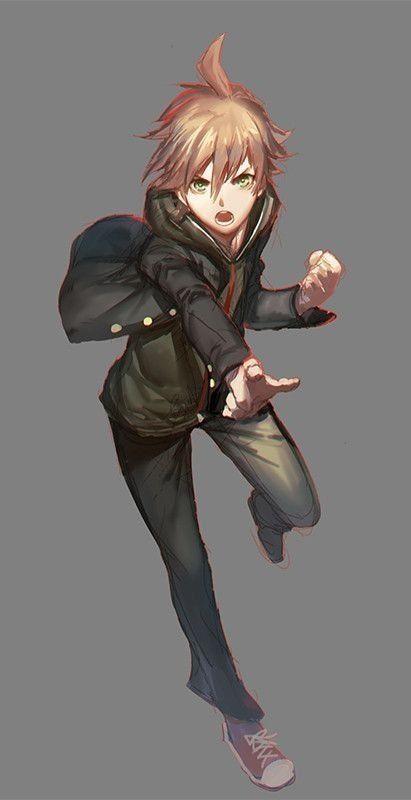 Anime fiú lee