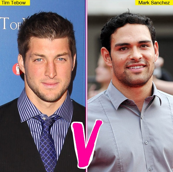 """Mark Sanchez Vs. Tim Tebow: Who's The Hotter Quarterback?"" Hollywood Life (March 22, 2012)"