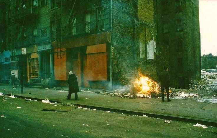 Нижний Ист-Сайд, Нью-Йорк, 1970-е.