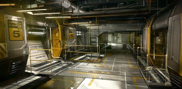 OceanBase_Belltower_Corridor Deus Ex 3 DLC by Gryphart.deviantart.com on @deviantART