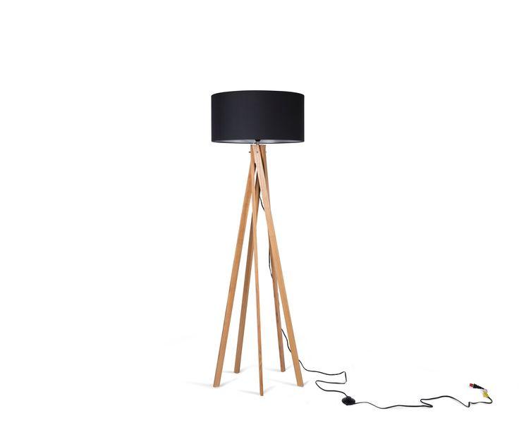 Lámpara de Pie Nicolás - Negro
