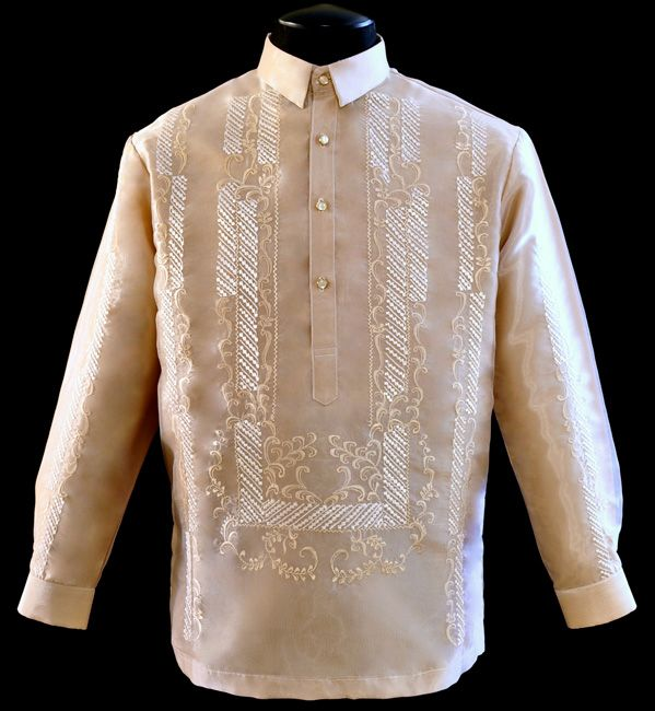 Barong Tagalog' in modern times - YouTube