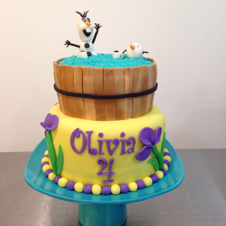 Cake Decoration Olaf : Olaf Birthday Cake!! Haley s 5th Pinterest Birthday ...
