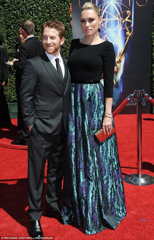 There they are: Seth Green and his wife Clare Grant looked striking as they showed up for ...