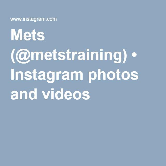 Mets (@metstraining) • Instagram photos and videos